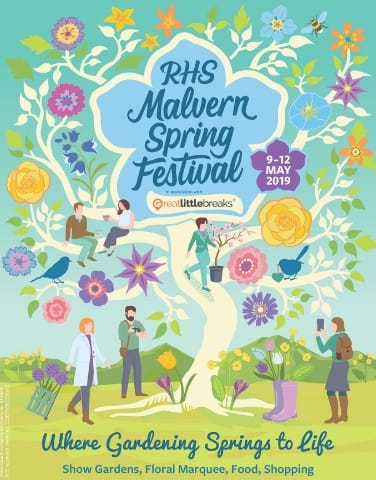 greatlittlebreaks proud sponsors of the rhs malvern spring festival 2019