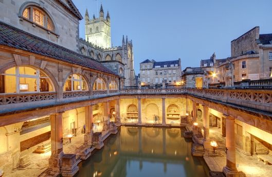 greatlittlebreaks | virtual tour uk | roman baths